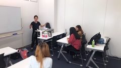 【那覇】ハロウィンメイクに挑戦!!