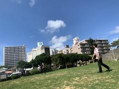 【那覇】キャッチボール♪