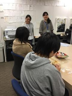 【新潟】卒業生が遊びに来てくれました