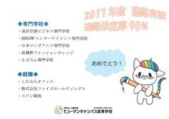 【新潟】今年度の進路実績!