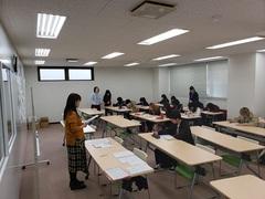 【新潟】進級生のホームルーム(*´▽`*)