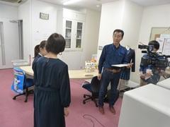 【新潟】テレビ取材をうけたよ(*´▽`*)