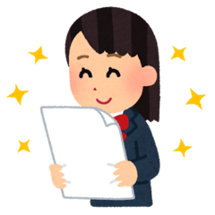 【新潟】明日は1年生の前期試験です!