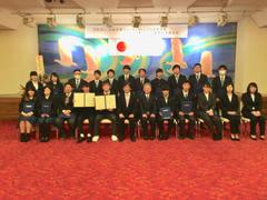 【佐渡】2017年度卒業式