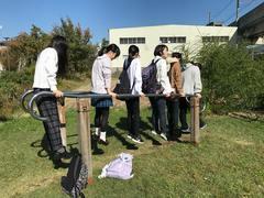【十日町】公園散策シリーズ(腕の力で身体を支える!編)
