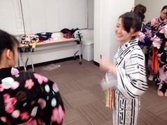 【岡山】第二回★浴衣の着付け教室開催