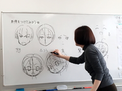 【岡山】マンガ・イラスト体験授業♪