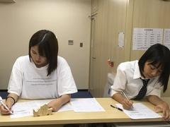 【岡山】試験前日の様子