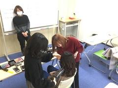 【岡山】メイク美容コースの日常