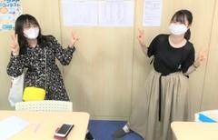 【岡山】卒業生が来てくれました (>u<)