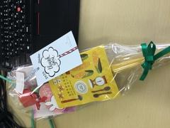【岡山】卒業生からの贈り物