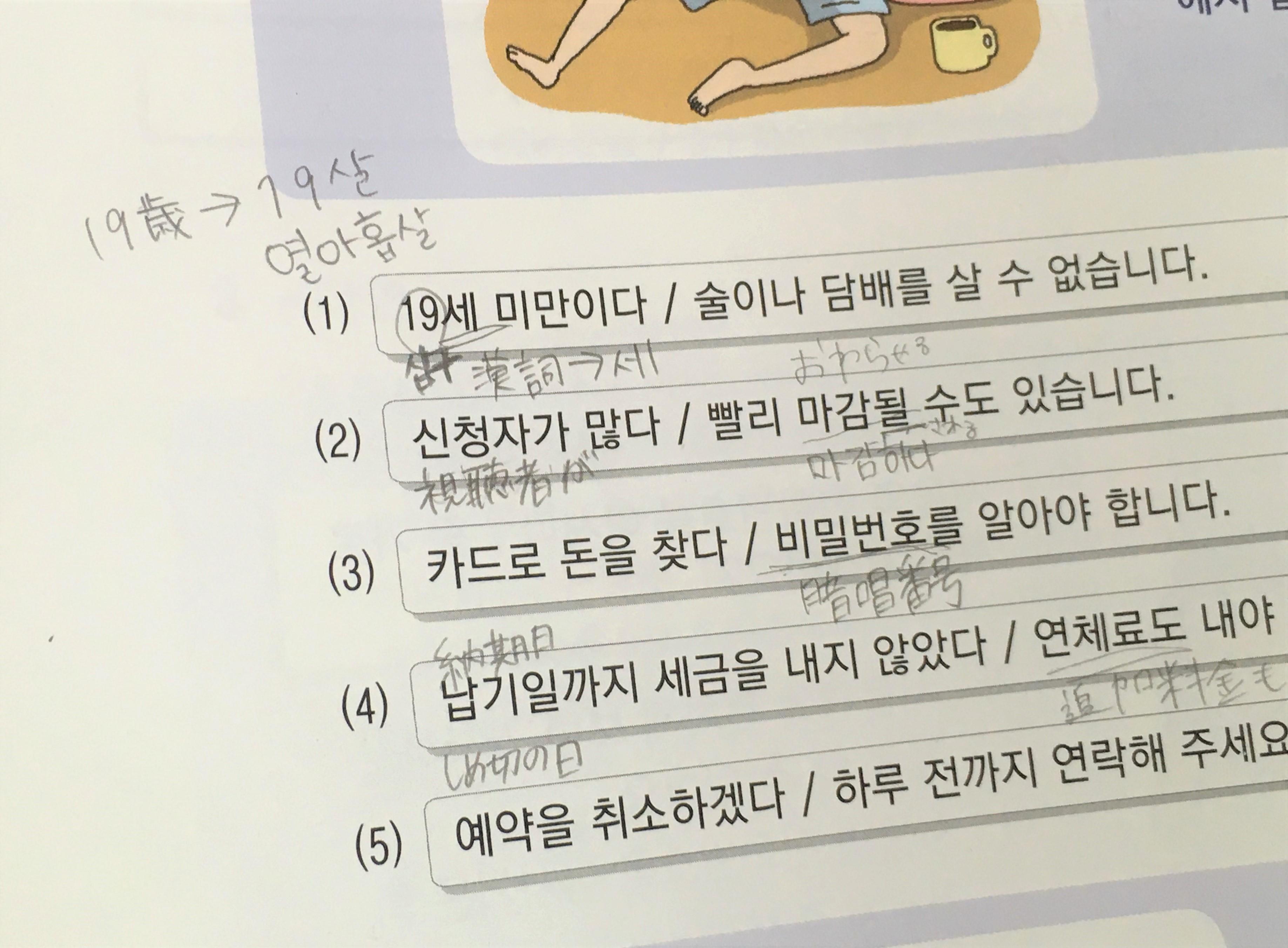 韓国 語 です ね すごい
