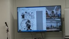 【大宮第二】マンガ・イラスト 特別授業の様子をレポート(>_<)