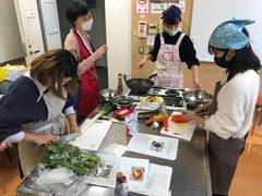 【大宮第二】韓国語コース 調理実習を行いました!