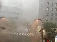 【大宮】豪雨