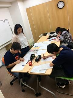 【大宮】大学進学コースの授業体験中!!
