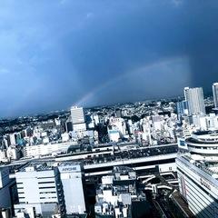 【大宮】虹がこんにちは
