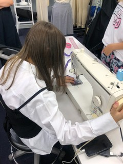 【大阪】ファッション制作実習をしました★