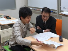 【なんば】レポート対策日&通学コース国語の授業☆