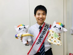 【なんば】作文コンクール最優秀賞!!