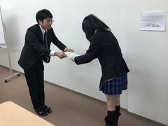 【札幌駅前】検定合格おめでとう!☆
