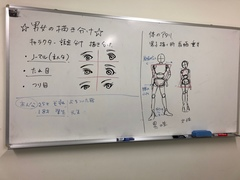 【札幌駅前】男女の描き分けを学ぼう!【イラスト】