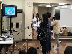 【札幌駅前】アフレコ体験開催しました☆
