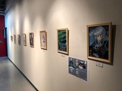 【札幌駅前】ヒューマンキャンパス高等学校イラスト展2019開催中!☆