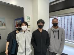 【札幌駅前】またまた先輩の登場!