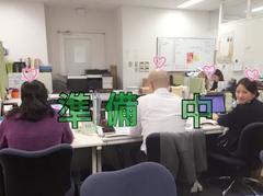 別れの時が今せまる・・・卒業式準備中/仙台 通信高校