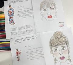 【仙台】今日の教室☆メイク・美容1年生