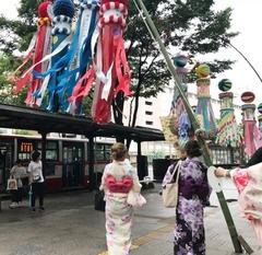 【仙台】七夕祭り!浴衣着付け&ヘアメイク