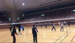 【仙台】後期スクーリング★体育はバドミントン