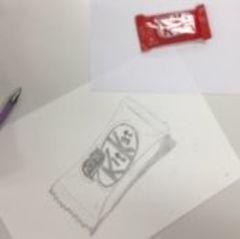 【仙台】美術の授業で鉛筆デッサン★
