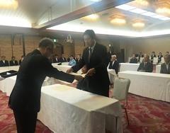 【仙台】宮城県警察活動功労者として宮城県警の本部長より表彰を受けました