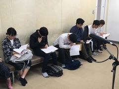 【新宿】4月29日(月)はアフレコ体験を実施しましたー!