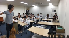 第六回特別授業(セラピードッグ)