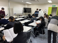 【静岡】オリエンテーションを行いました