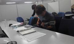 プロギタリストとセッション@立川学習センター