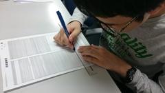 【立川】イラスト授業の様子です