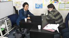 【立川】就職希望の生徒の個別面談♪