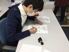 【立川】 今日はイラストの授業!