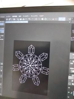 【立川】本日のイラスト授業は 【魔法陣の描き方】でした