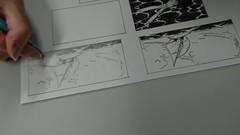 【立川】アナログイラスト・1/18今日の授業