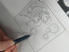 【立川】アナログイラスト・5/14今日の授業