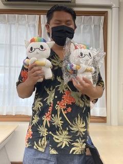 【立川】 ひゅーにゃん が届きました!