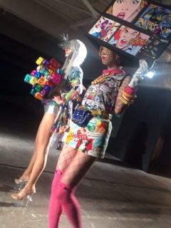 ファッションショーを観に大阪へ!!