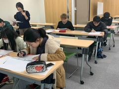 【高松】テストに向けて勉強中!