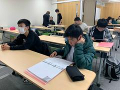 【高松】後期試験!生徒達頑張ってます!①