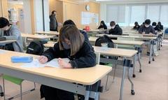 【高松】後期試験が始まりました( ..)φ